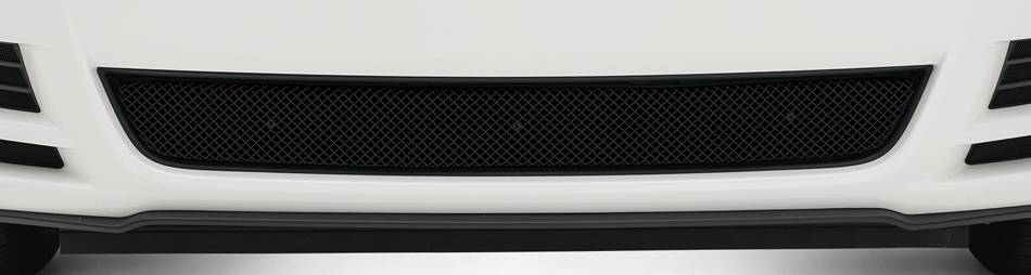 Ford Mustang GT Sport Series Formed Mesh Main Grille - 3 Pc. - All Black - Pt # 46525