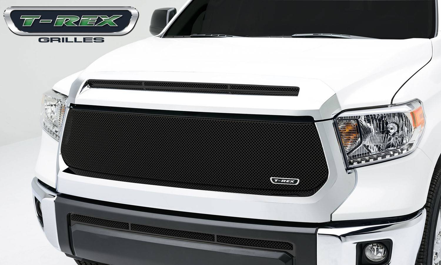 T-REX Toyota Tundra   Sport Series, Formed Mesh, Main Grille, Replacement, 1 Pc, Black Powdercoated Mild Steel - Pt # 46965
