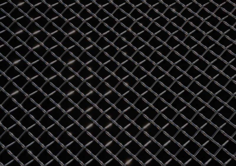 All Most Vehicles Stainless Steel Wire Mesh Flat Black