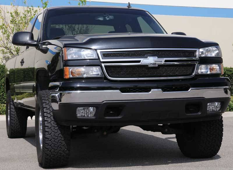 T-REX Grilles - Silverado Upper Class Grille, Black, 2 Pc, Overlay - PN #51106