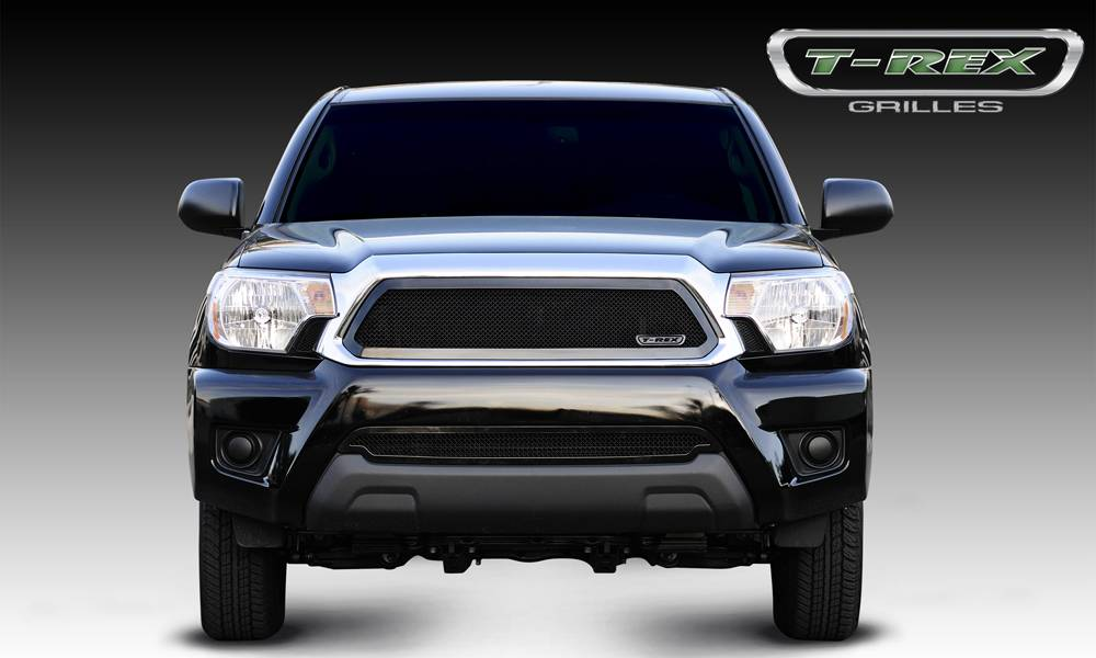 T-REX Toyota Tacoma Upper Class Mesh Grille - All Black - Pt # 51938