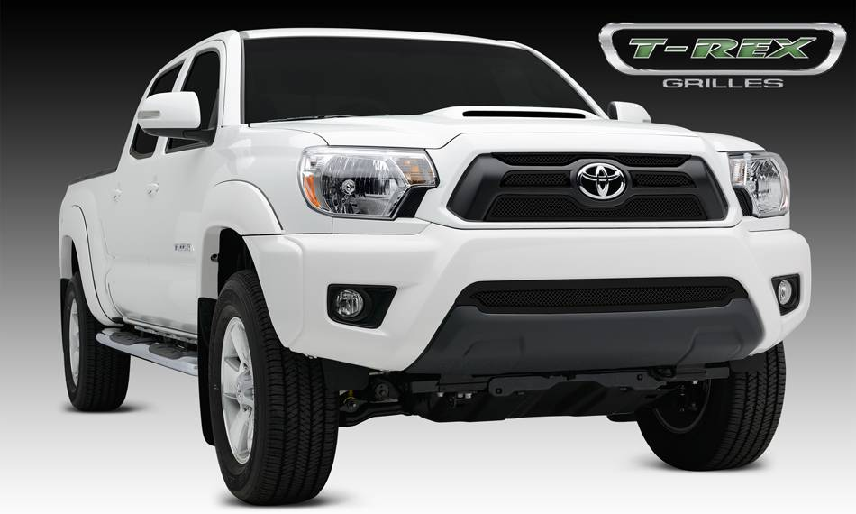 T-REX Grilles - 2012-2015 Tacoma Upper Class Grille, Black, 4 Pc, Overlay - PN #51940