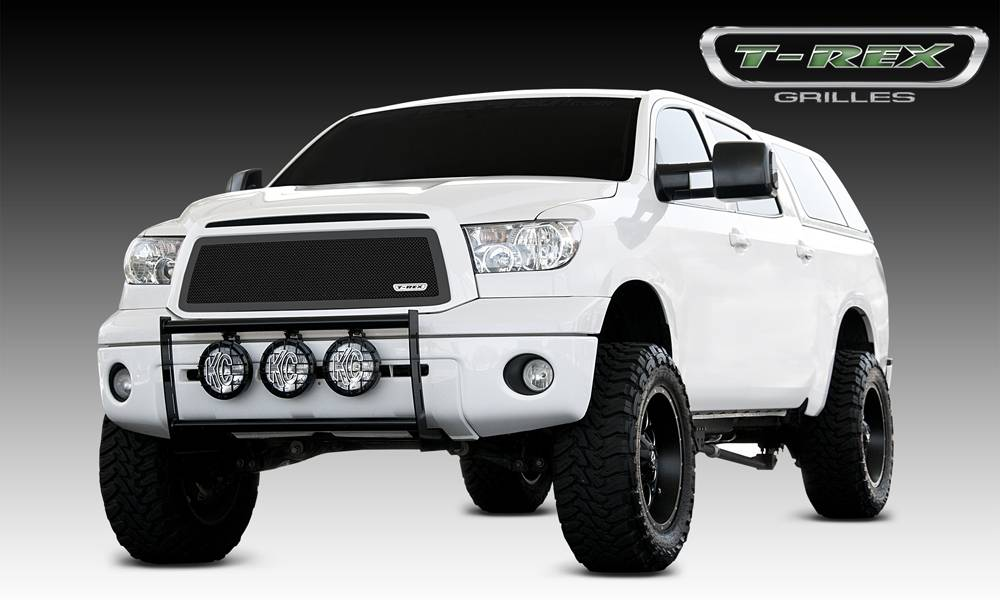 T-REX Toyota Tundra  Upper Class Mesh Grille - All Black - With Formed Mesh - Insert No Logo - Pt # 51963