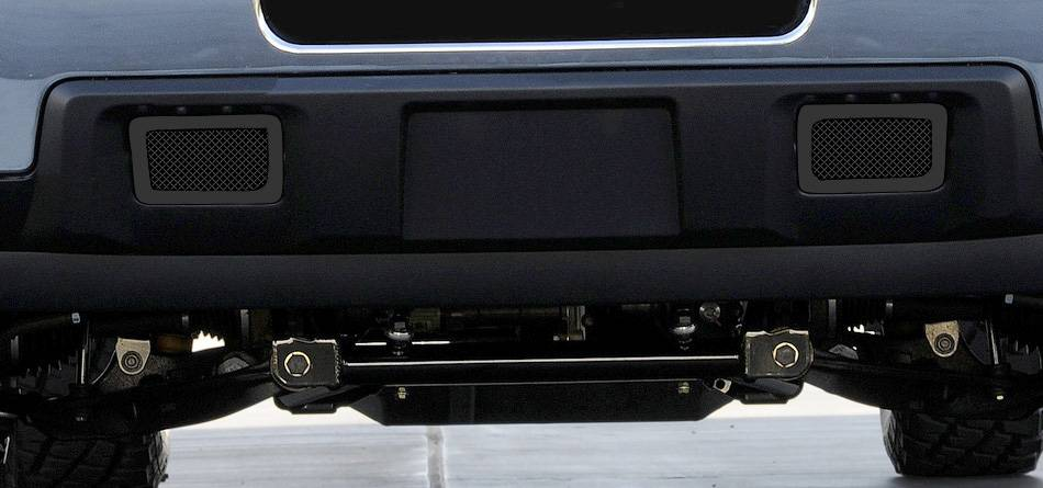 T-REX Grilles - 2011-2014 Silverado HD Upper Class Bumper Grille, Black, 2 Pc, Overlay - PN #52115