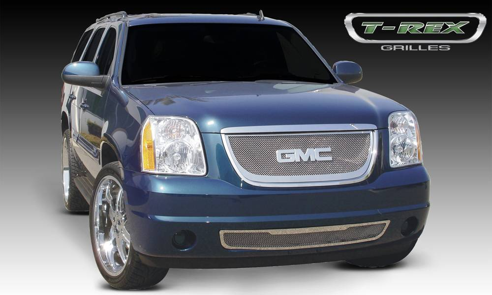 T-REX Grilles - 2007-2014 Yukon, Yukon XL Upper Class Grille, Polished, 1 Pc, Insert - PN #54171