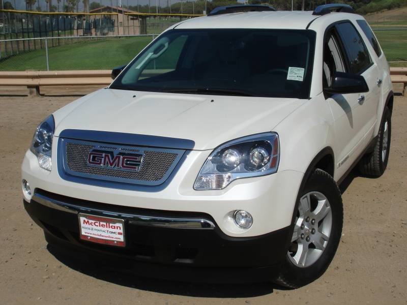 T-REX GMC Acadia Upper Class Polished Stainless Mesh Grille - Overlay w/ Logo Opening - Pt # 54386