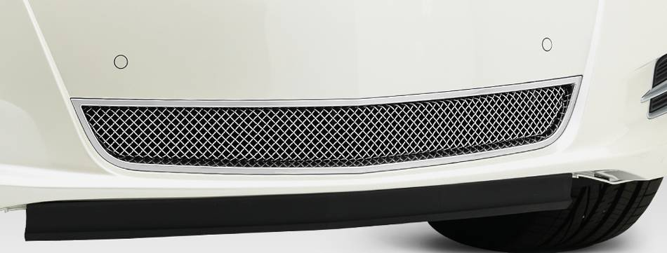 Cadillac XTS Upper Class, Formed Mesh Grille, Bumper, Overlay, 1 Pc, Polished Stainless Steel Will not fit Platinum Edition. - Pt # 55173