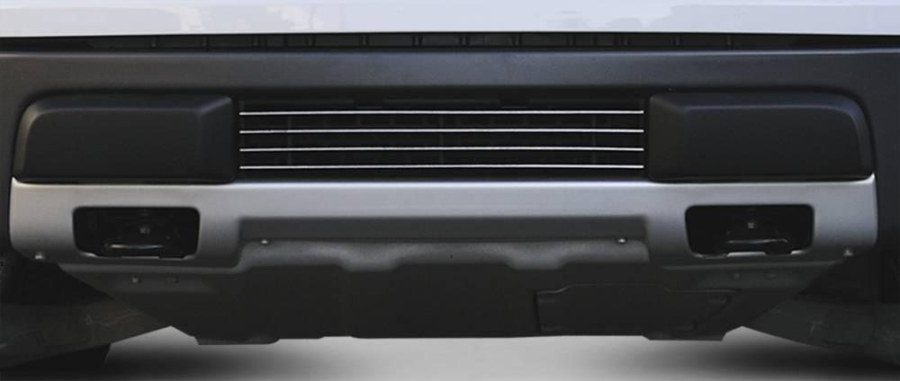 T-REX Grilles - 2010-2014 F-150 Raptor SVT Laser Billet Bumper Grille, Polished, 1 Pc, Overlay - PN #6225660