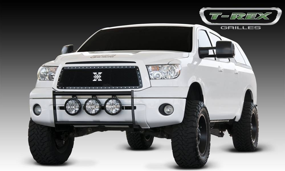 T-REX Toyota Tundra  X-METAL Series - Studded Main Grille - ALL Black - Pt # 6719631