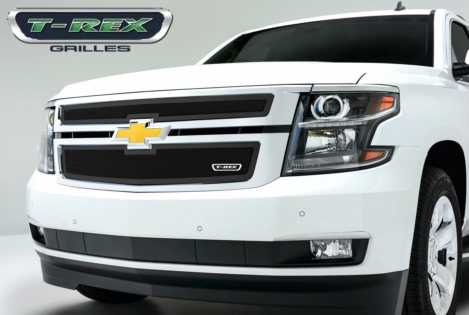 T rex chevrolet suburban tahoe upper class mesh grille all black 2