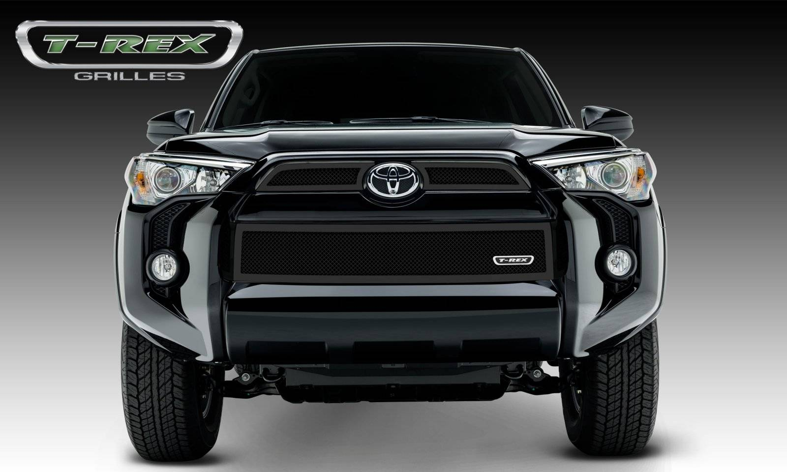T-REX Grilles - 2014-2019 Toyota 4Runner Upper Class Grille, Black, 3 Pc, Overlay - PN #51949