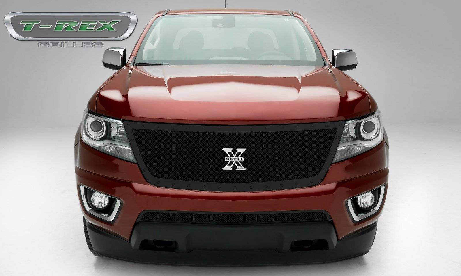 Chevrolet Colorado - X-Metal Series - Main Grille with Black Powdercoat Finish - Pt # 6712671