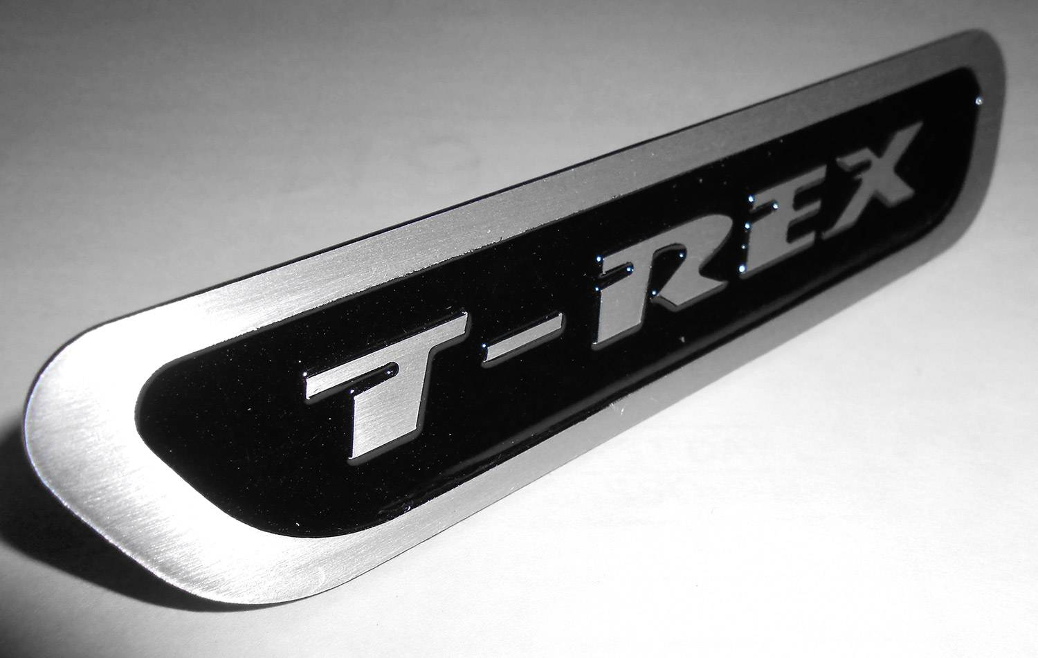 T-REX Grilles - Universal T-REX Logo, Black, 1 Pc, Bolt-On, - PN #L1016