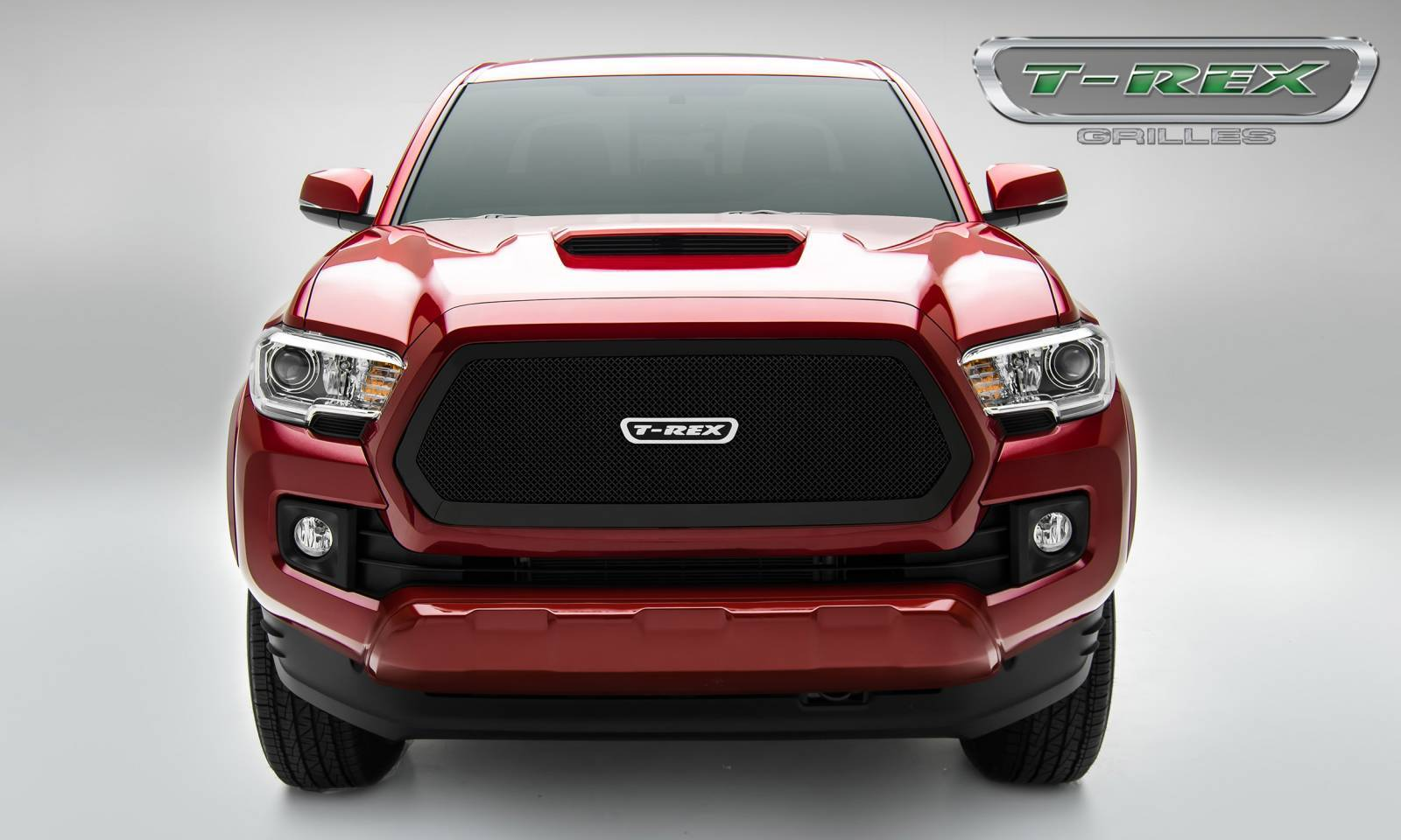 T-REX Grilles - 2016-2017 Tacoma Upper Class Grille, Black, 1 Pc, Insert - PN #51941