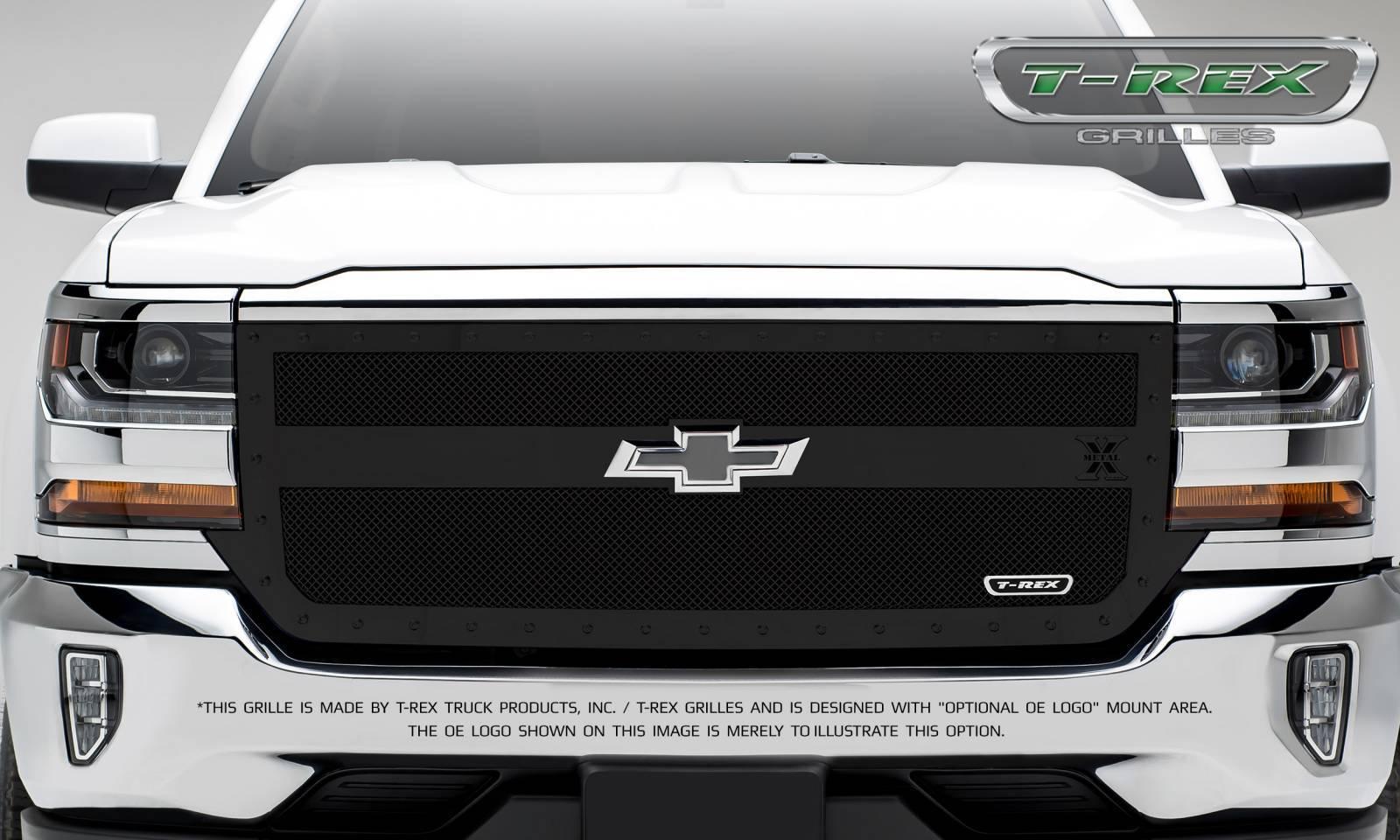 Chevrolet Silverado 1500 X-METAL Series, 1 Bar Design, STEALTH METAL