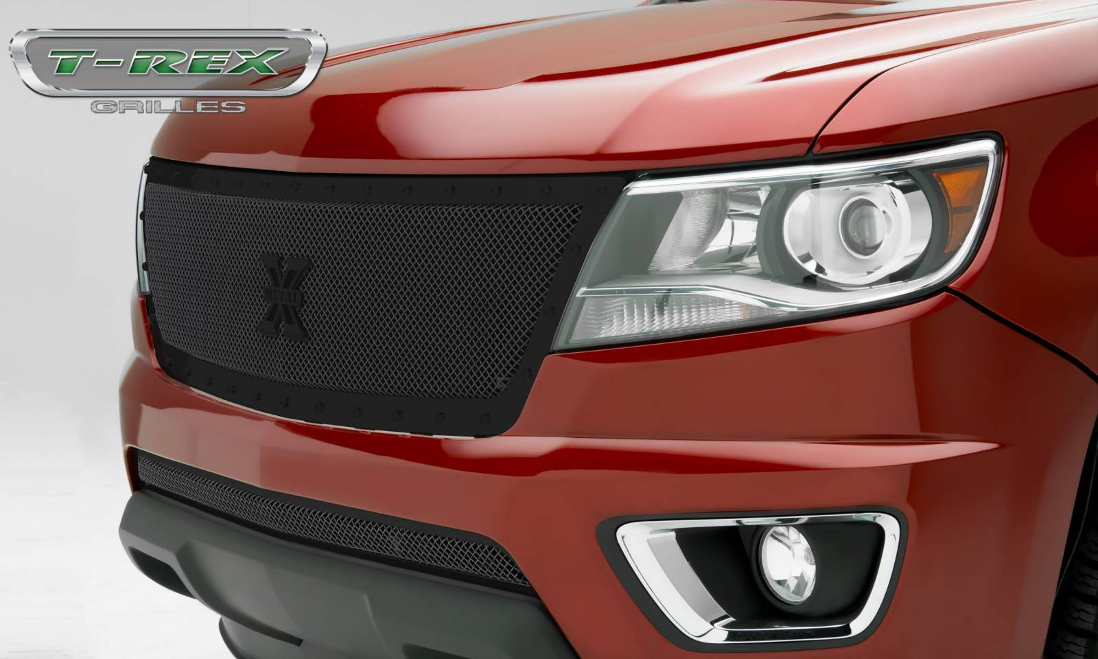 T-REX Grilles - Chevrolet Colorado - X-Metal Series - Main Grille with Black Powdercoat Finish - Pt # 6712671-BR