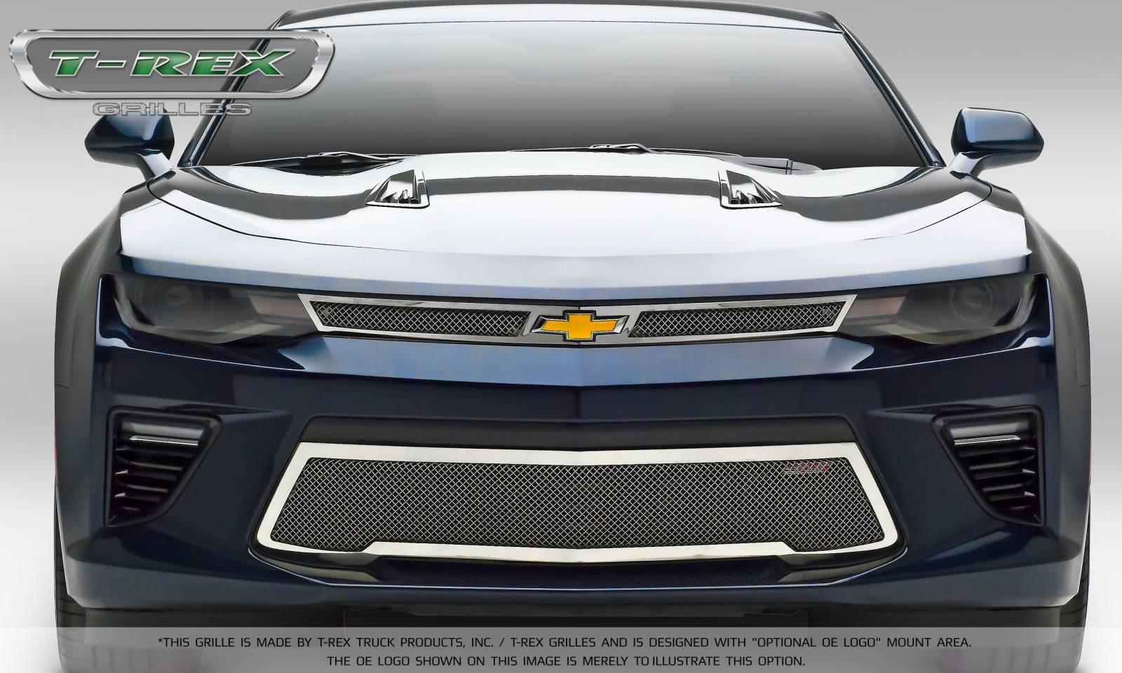 Chevrolet Camaro SS - Upper Cl - Main Grille Overlay with ...