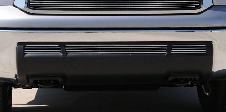 T-REX Grilles - Toyota Tundra  Black Bumper Billet Grille Insert - 3 Pc - Pt # 25961B