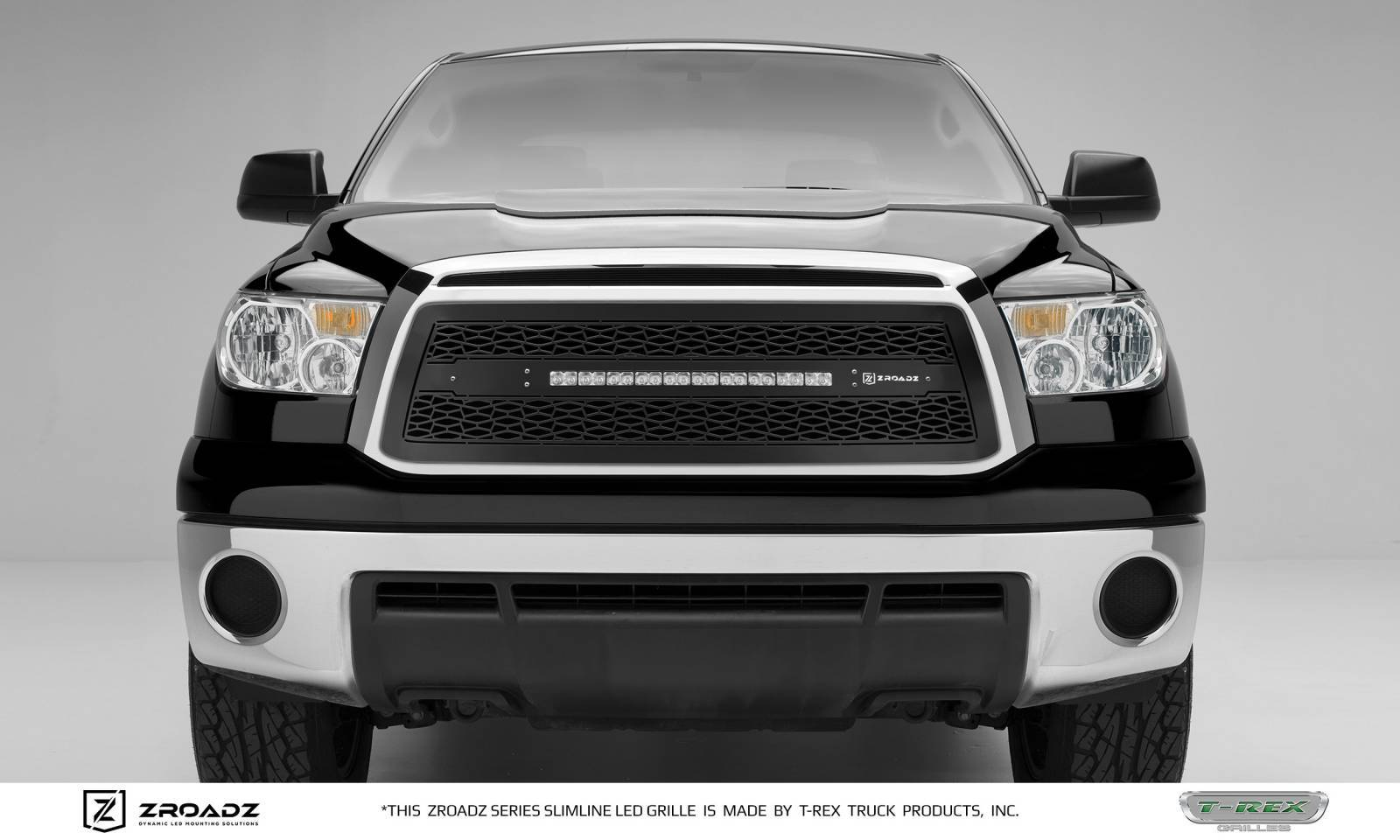 T-REX Grilles - Toyota Tundra - ZROADZ Series - Main Insert - Grille w/ One 20 Inch Slim Line Single Row LED Light Bar - Part# Z319631