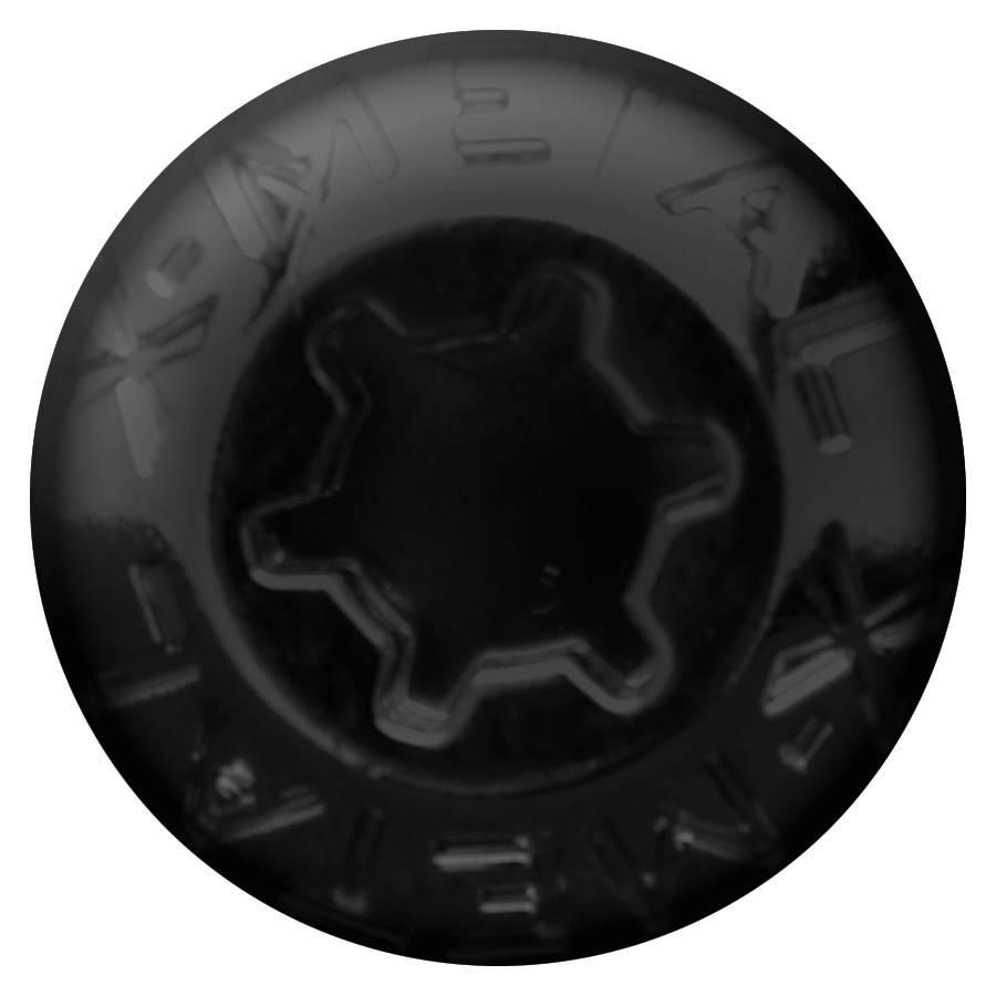T-REX Grilles - X-Metal Studs - Replacement 5 Piece Package - Black - Pt# 6710000-3B