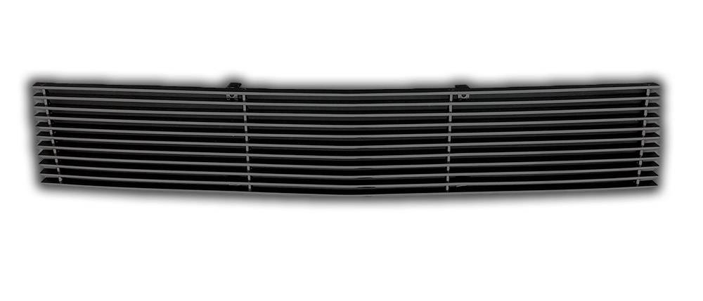 T-REX Ford F-150 Billet Grille, Main, Insert, 1 Pc, Aluminum, Requires cutting factory grille center - All Black - Pt # 20572B