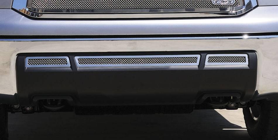 T-REX Grilles - Toyota Tundra  Upper Class Bumper - Black - 3 Pc - Pt # 52961