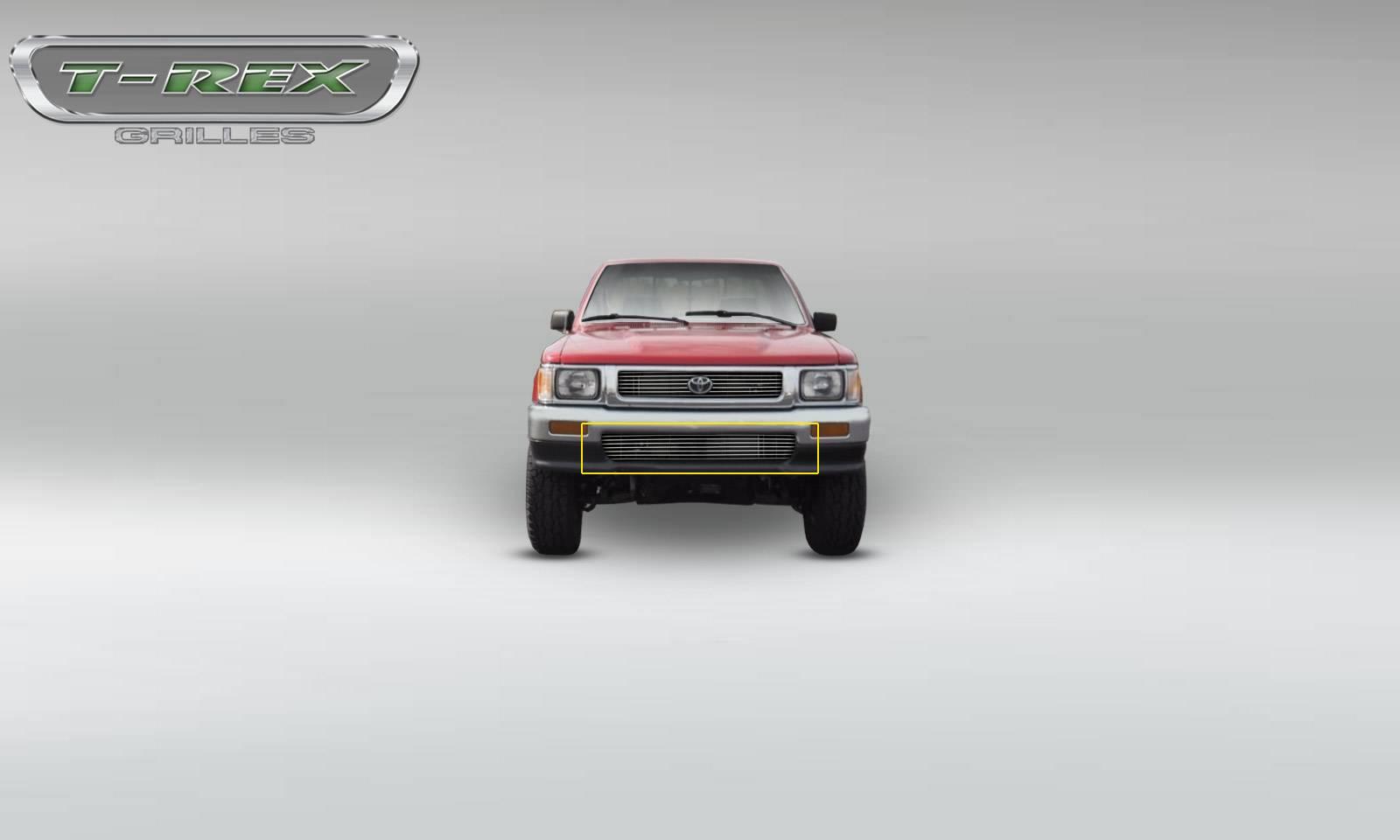T-REX Grilles - 1989-1991 Toyota PU-2WD Bumper & Lower Valance Billet Insert (9 Bars) - PN #25845