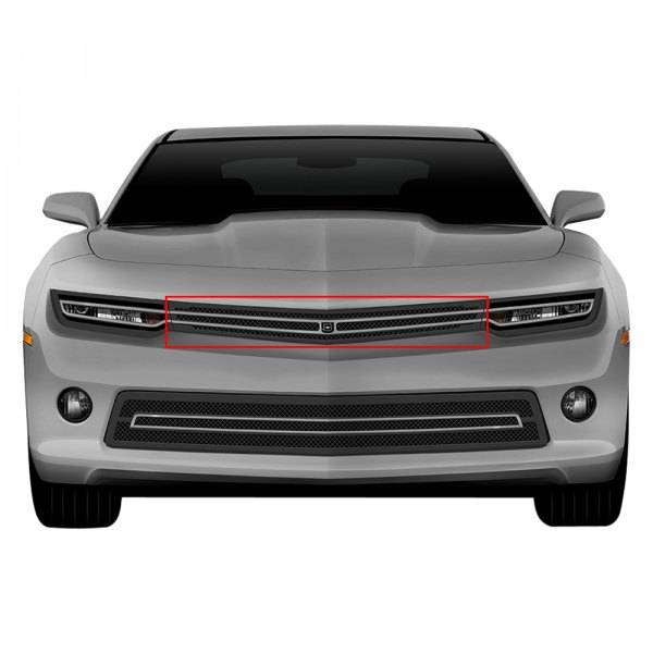 T-REX Grilles - 2014-2015 Camaro (All) Phantom Hidden Headlight Primary Grille - PN# DJ10321
