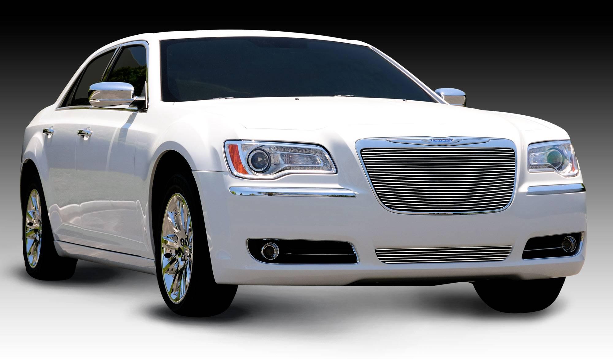 T-REX Grilles - 2011-2014 Chrysler 300 Billet Grille, Polished, 1 Pc, Insert - PN #20433