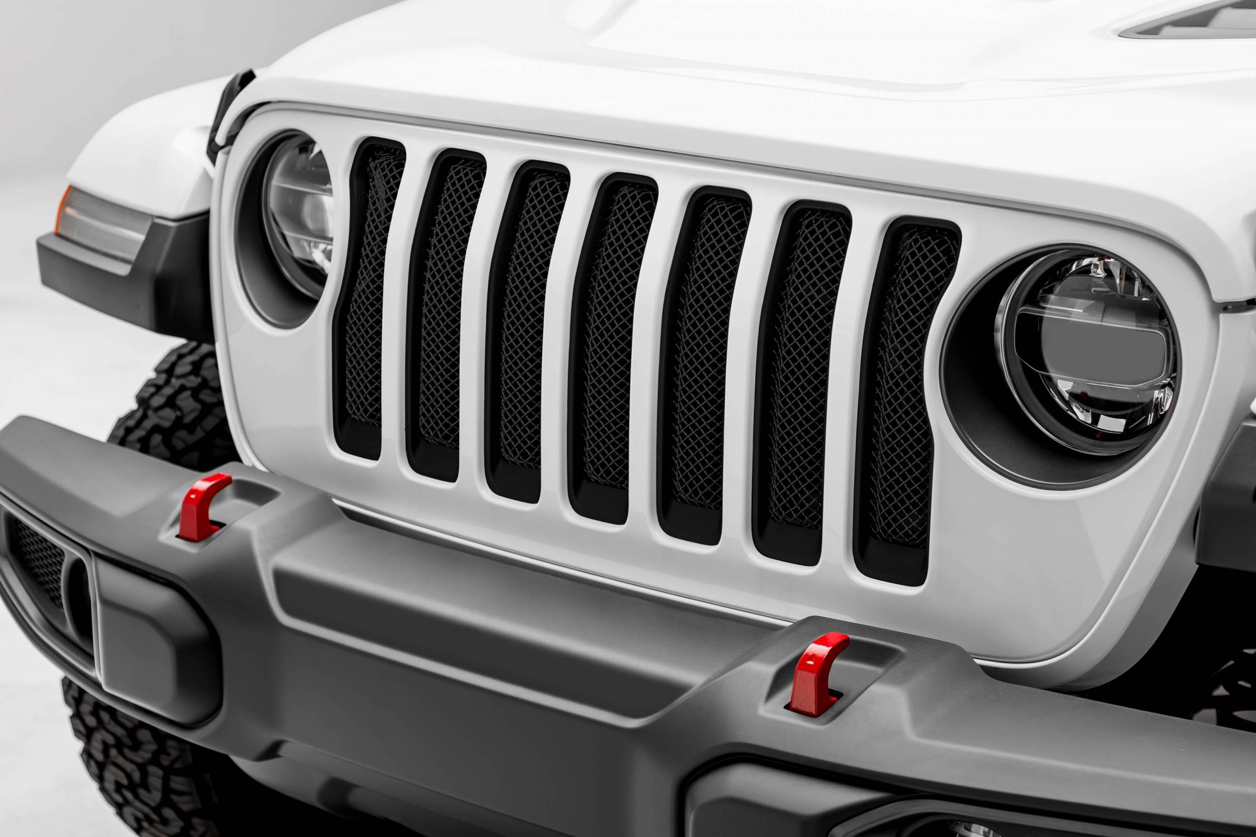 T-REX Grilles - Jeep Gladiator, JL Sport Series Grille, Black, 1 Pc, Insert, Does Not Fit Vehicles with Camera - PN #46493