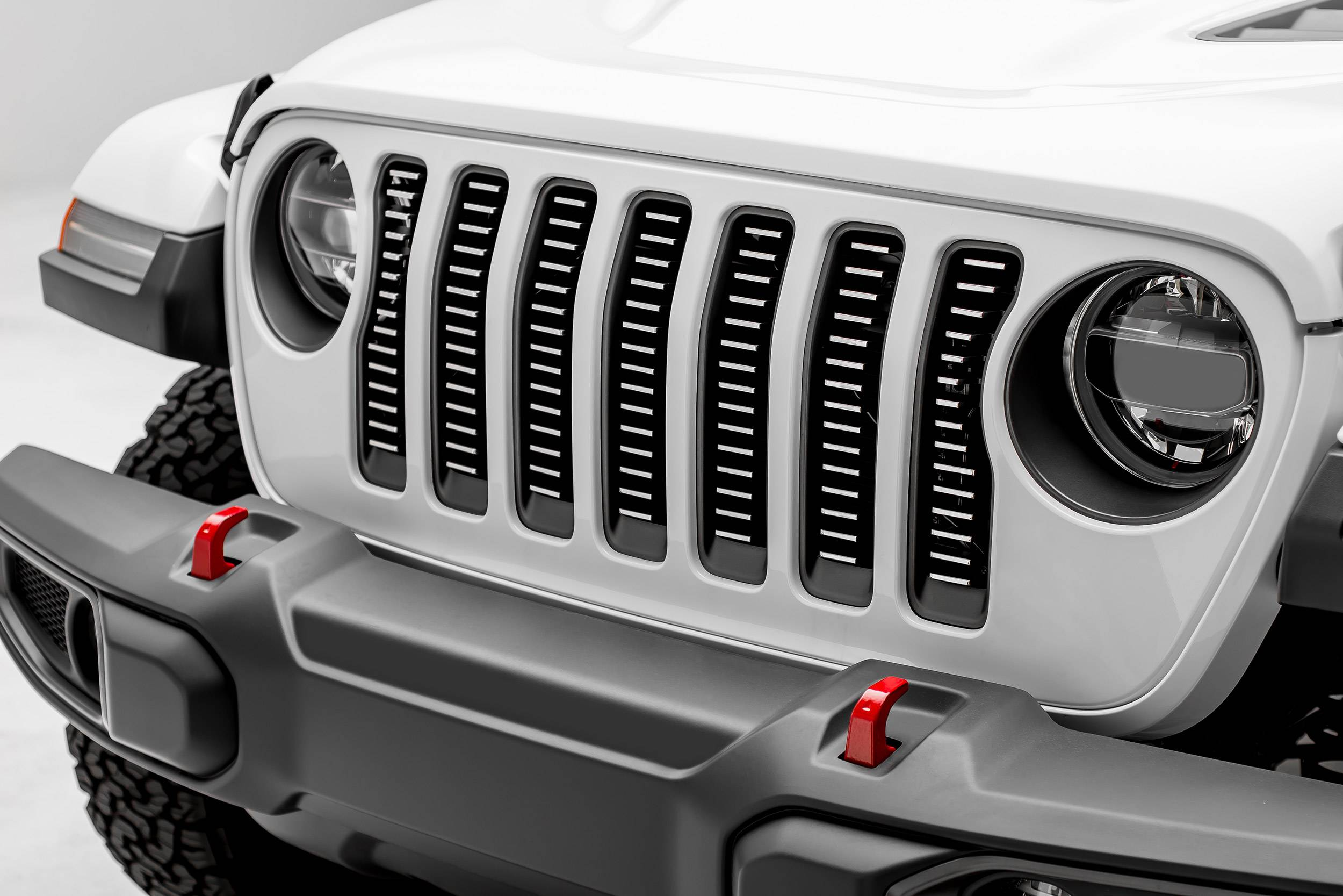 T-REX Grilles - Jeep Gladiator, JL Billet Grille, Brushed, 1 Pc, Insert,Does Not Fit Vehicles with Camera - PN #6204933