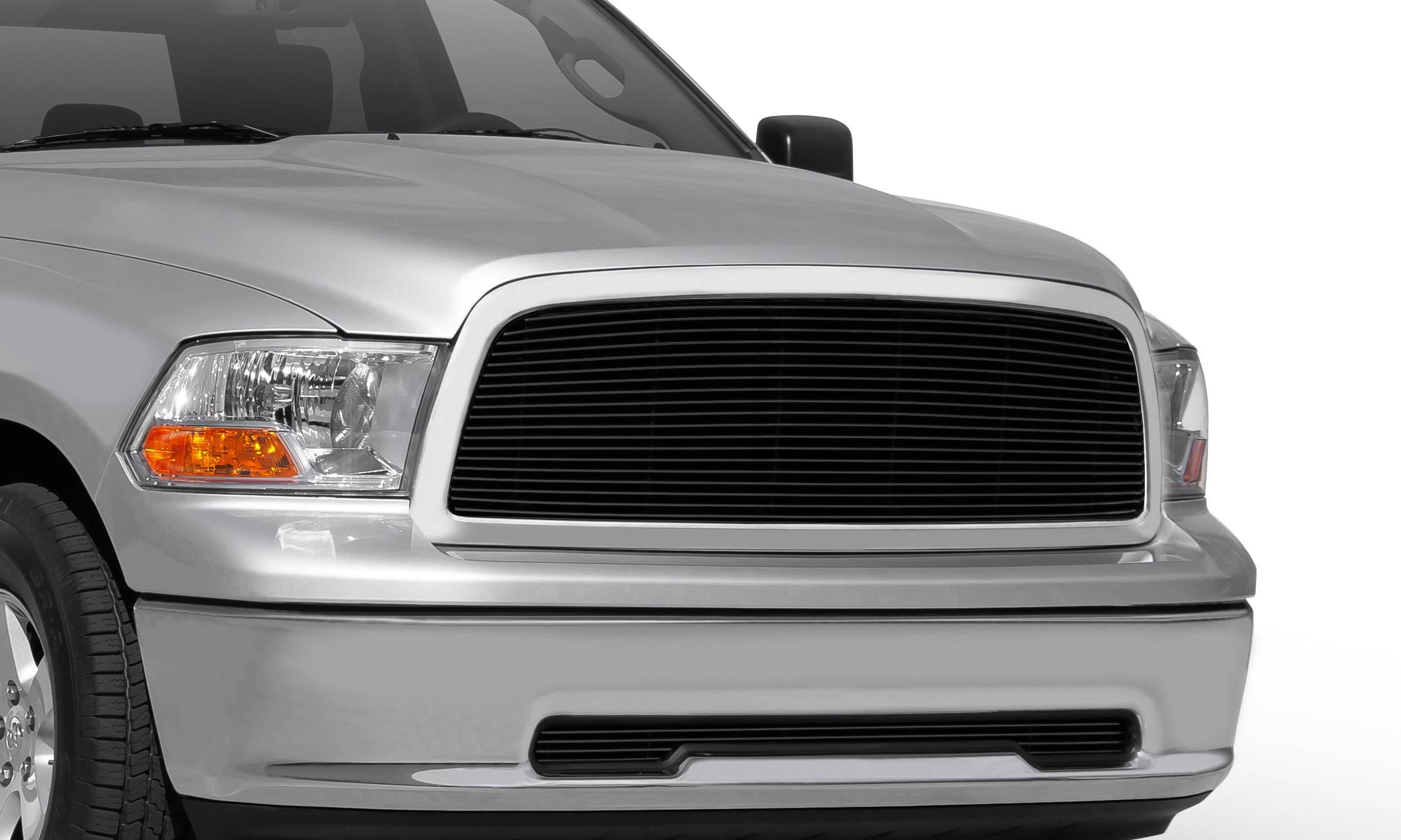T-REX Grilles - Dodge Ram PU 1500 Billet Grille Insert - Black - 1 Pc - Pt # 20457B
