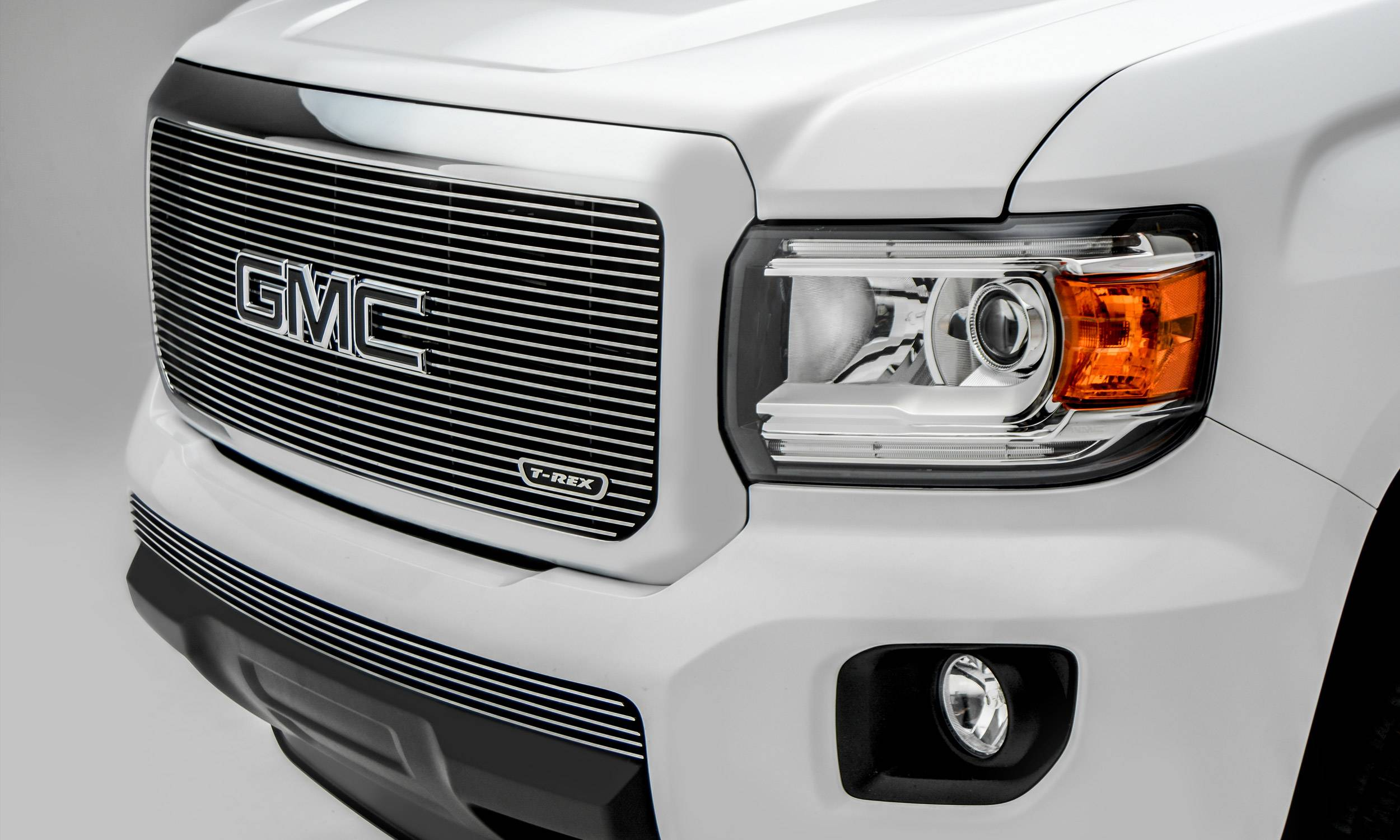 T-REX Grilles - 2015-2020 GMC Canyon Billet Grille, Polished, 1 Pc, Insert - PN #20371