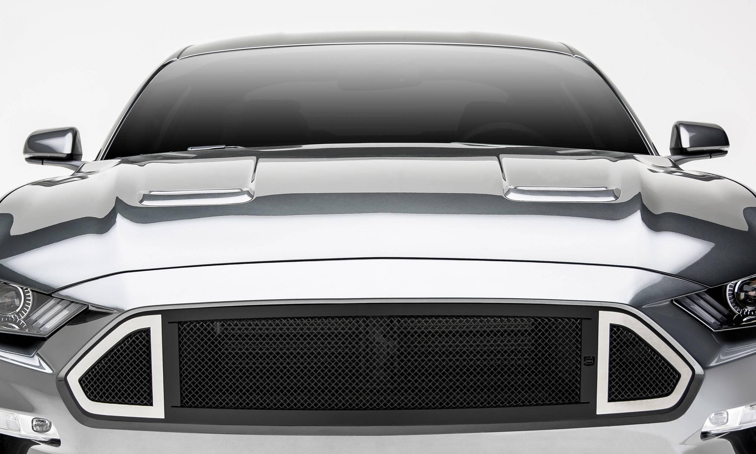 T-REX Grilles - 2018-2020 Mustang GT DJ Grille, Black, 1 Pc, Insert - PN #DJ10550