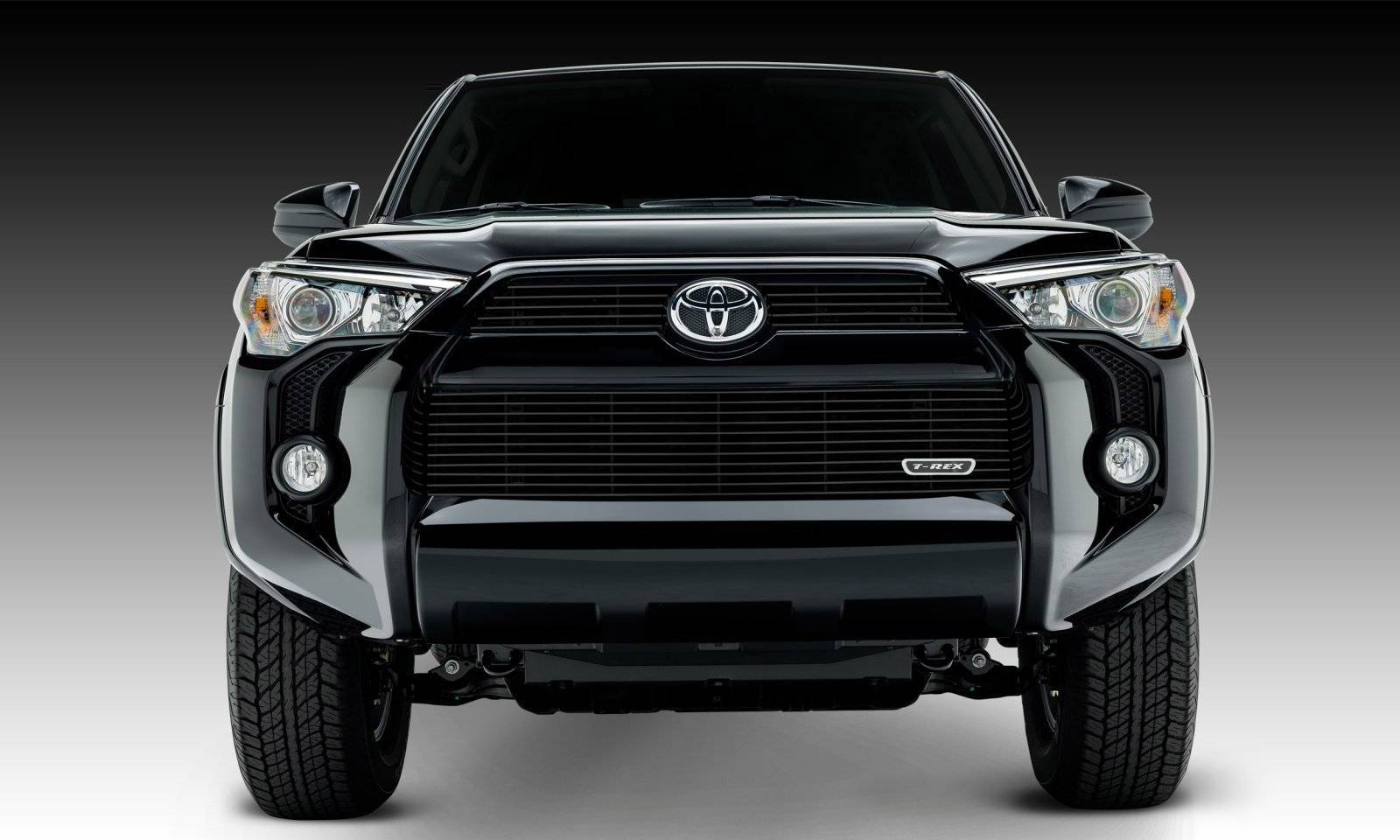 T-REX Grilles - 2014-2019 Toyota 4Runner Billet Grille, Black, 3 Pc, Overlay - PN #21949B