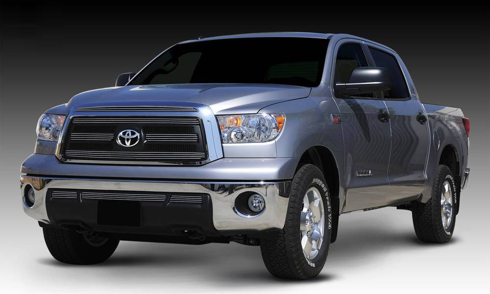 T-REX Grilles - 2010-2013 Tundra Billet Grille, Polished, 5 Pc, Overlay - PN #21961
