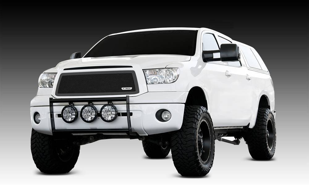 T-REX Grilles - 2010-2013 Tundra Upper Class Series Main Grille, Black, 1 Pc, Overlay - PN #51963
