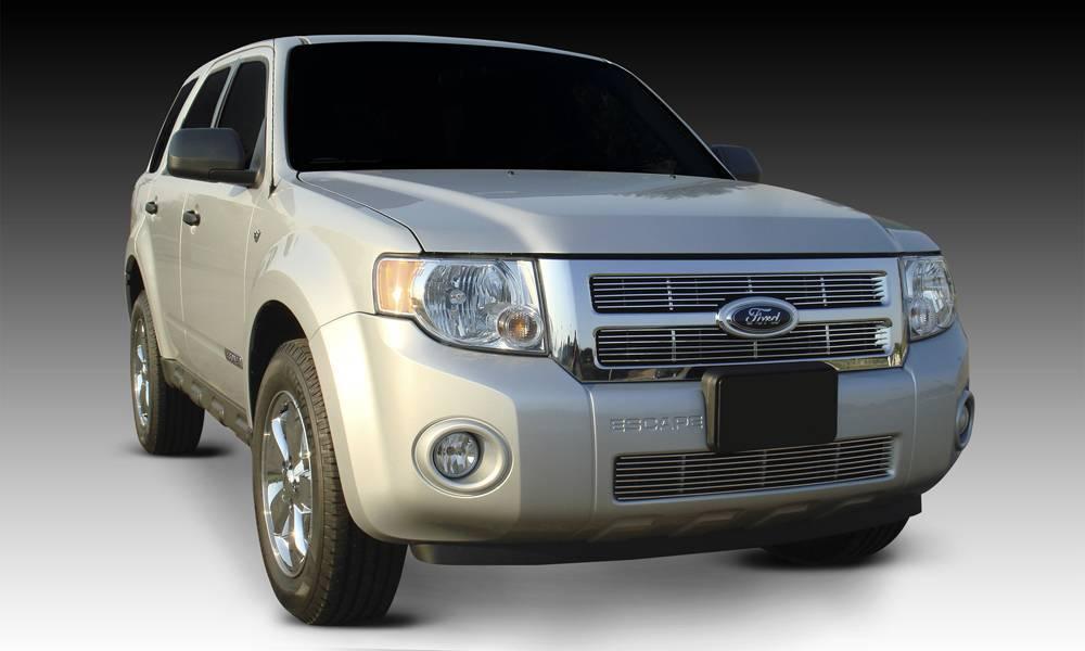 T-REX Grilles - Ford Escape Billet Grille Bolt On - EZ Install - 2 Pc - Pt # 20649