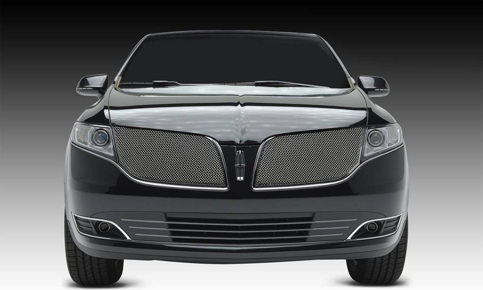 T-REX Grilles - 2013 Lincoln MKT Upper Class Series Main Grille, Chrome, 2 Pc, Overlay - PN #56719