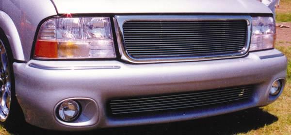 1998-2000 GMC Billet Grille, Polished, Aluminum, 1 Pc, Insert - PN# 20380