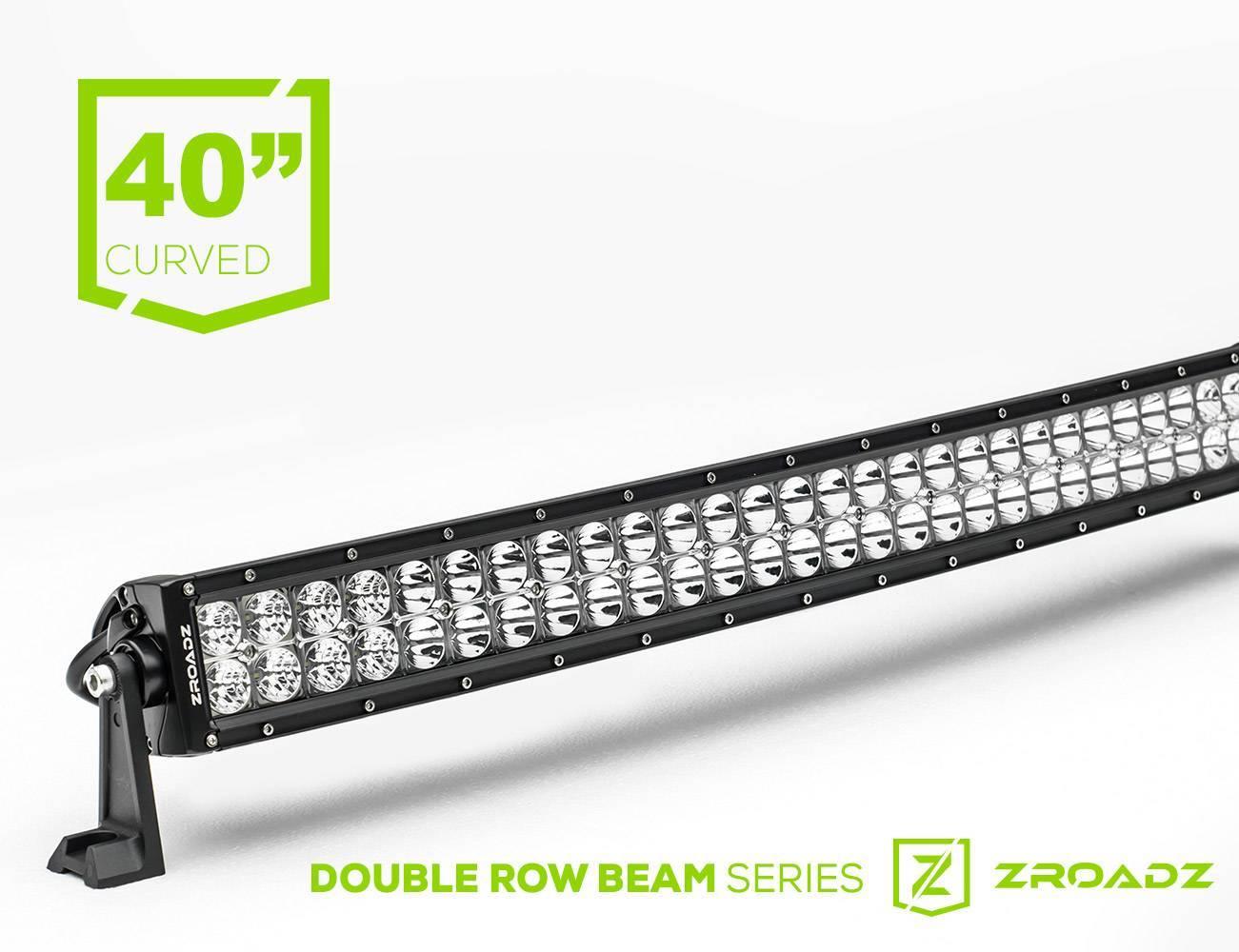 ZROADZ - 40 Inch LED Curved Double Row Light Bar - PN #Z30CBC14W240