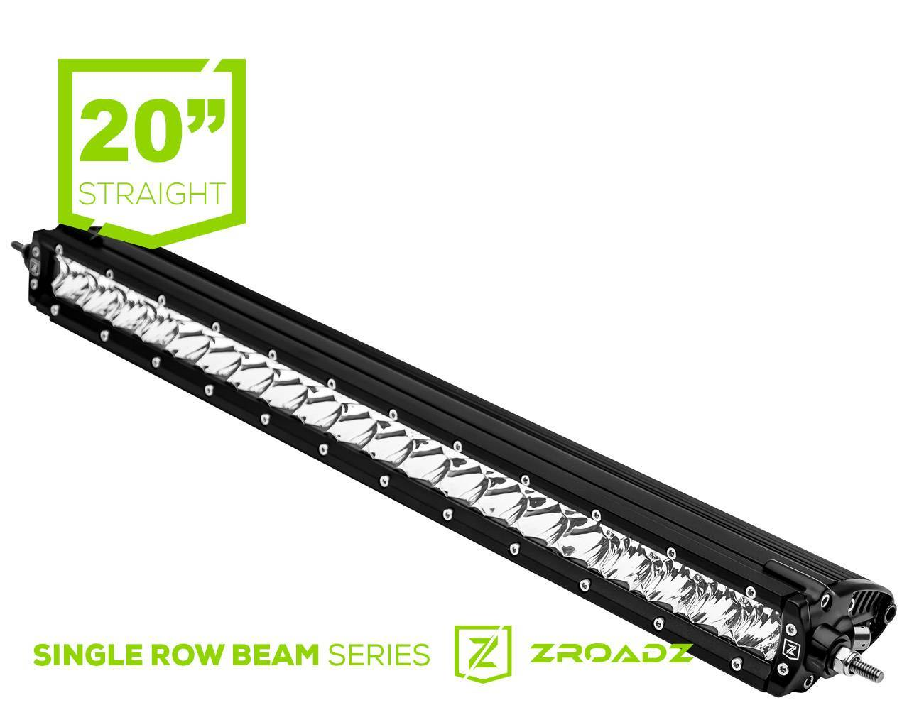 ZROADZ - 20 Inch LED Straight Single Row Slim Light Bar - PN #Z30S1-20-P7EJ