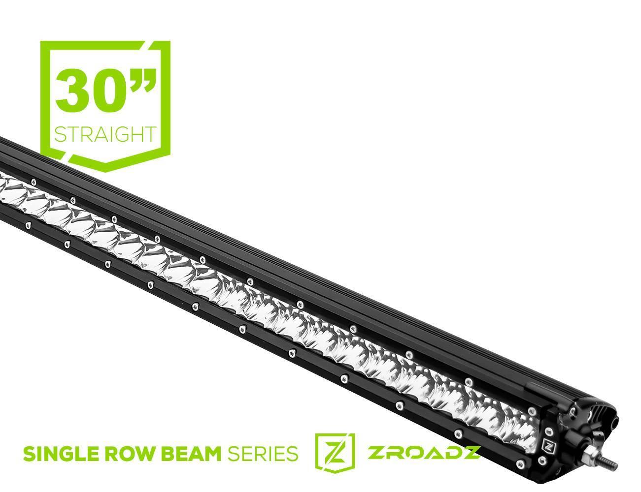 ZROADZ - 30 Inch LED Straight Single Row Slim Light Bar - PN #Z30S1-30-P7EJ