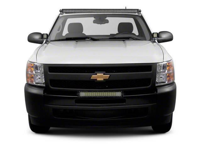 ZROADZ - 2007-2013 Chevrolet Silverado 1500 Front Bumper Top LED Kit with (1) 30 Inch LED Straight Double Row Light Bar - PN #Z322051-KIT