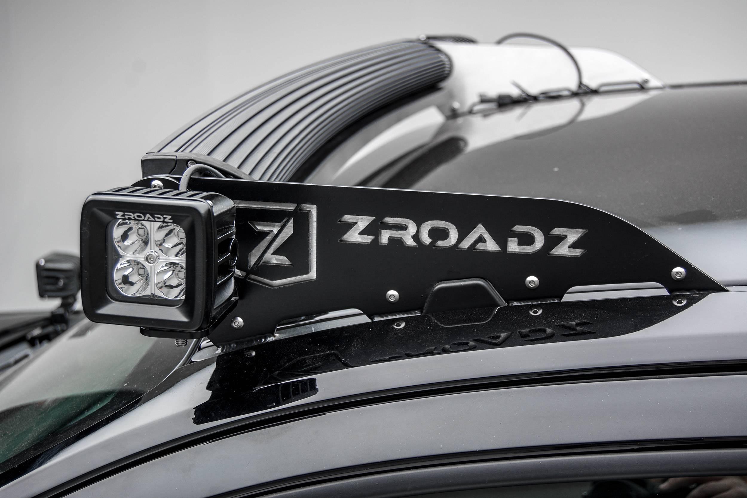 ZROADZ - Universal Front Roof LED Bracket to mount (2) 3 Inch LED Pod Lights - PN #Z330001