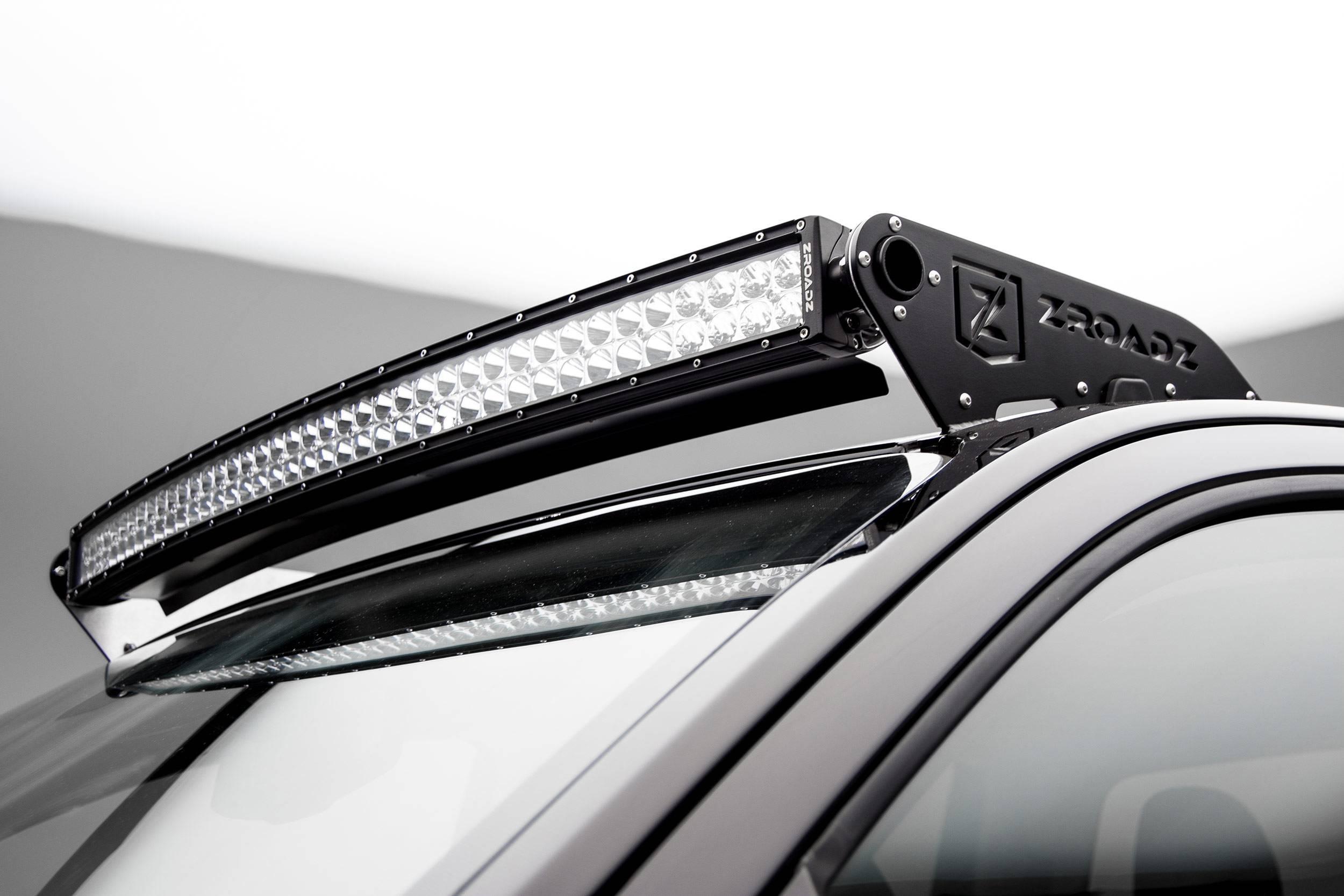 ZROADZ - 2015-2020 Colorado, Canyon Front Roof LED Bracket to mount 40 Inch Curved LED Light Bar - PN #Z332671