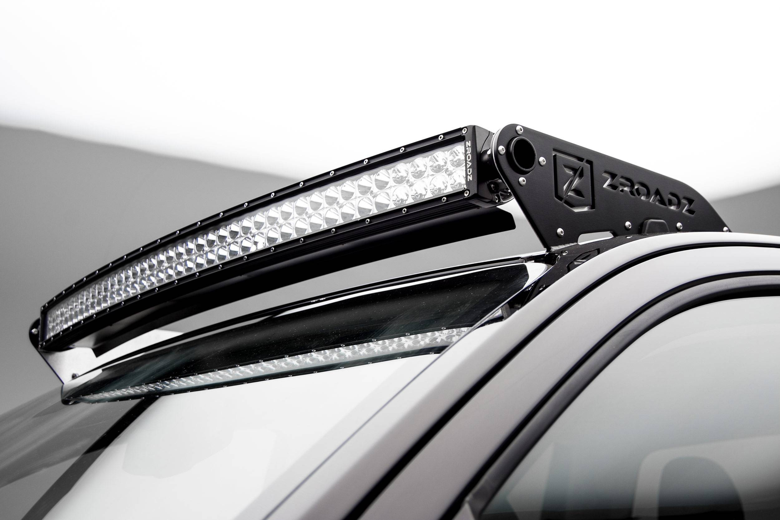 ZROADZ - 2015-2020 Colorado, Canyon Front Roof LED Kit with 40 Inch LED Curved Double Row Light Bar - PN #Z332671-KIT-C