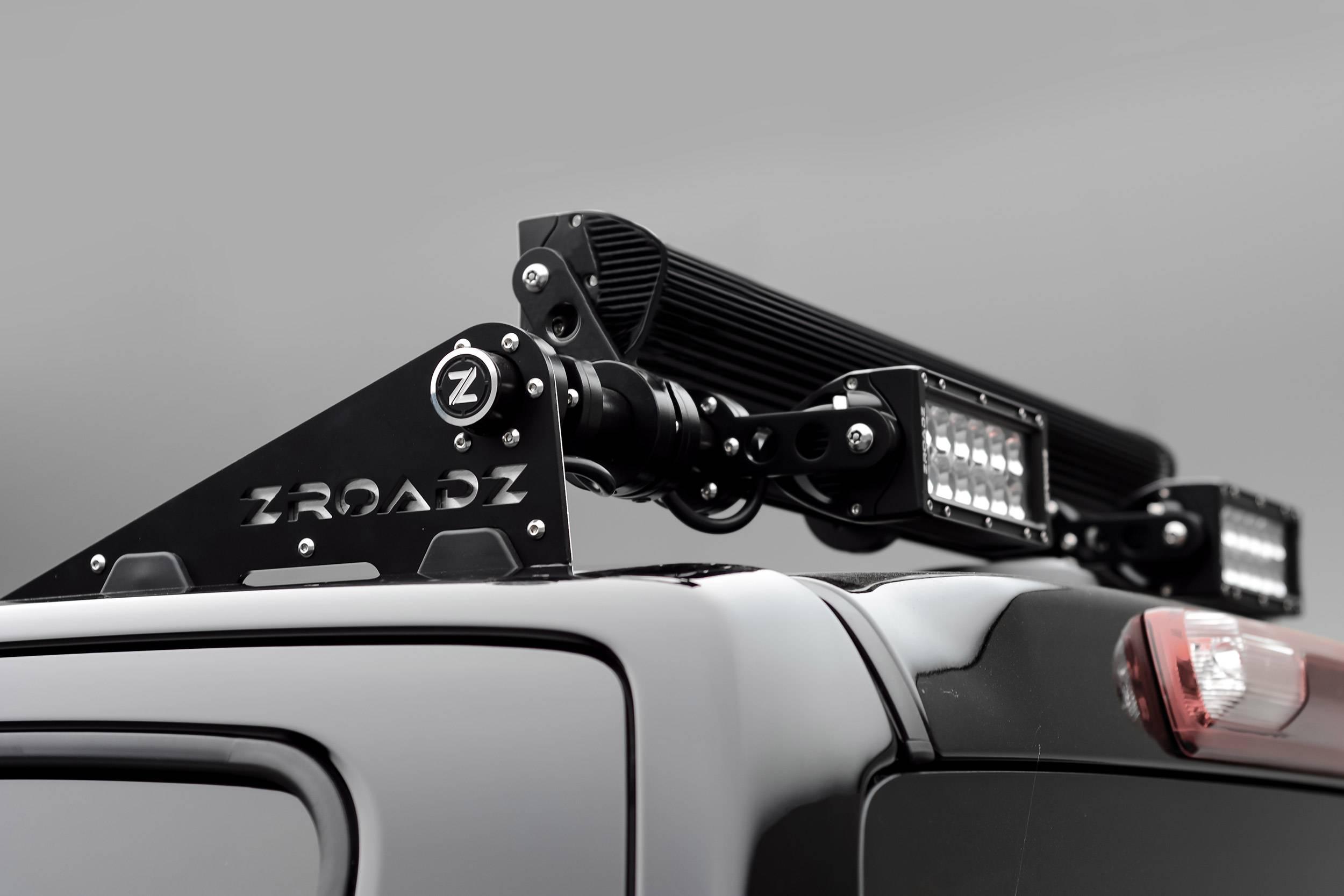 ZROADZ - Universal Modular Rack LED Bracket adjustable to mount up to (4) various size LED Light Bars - PN #Z350040