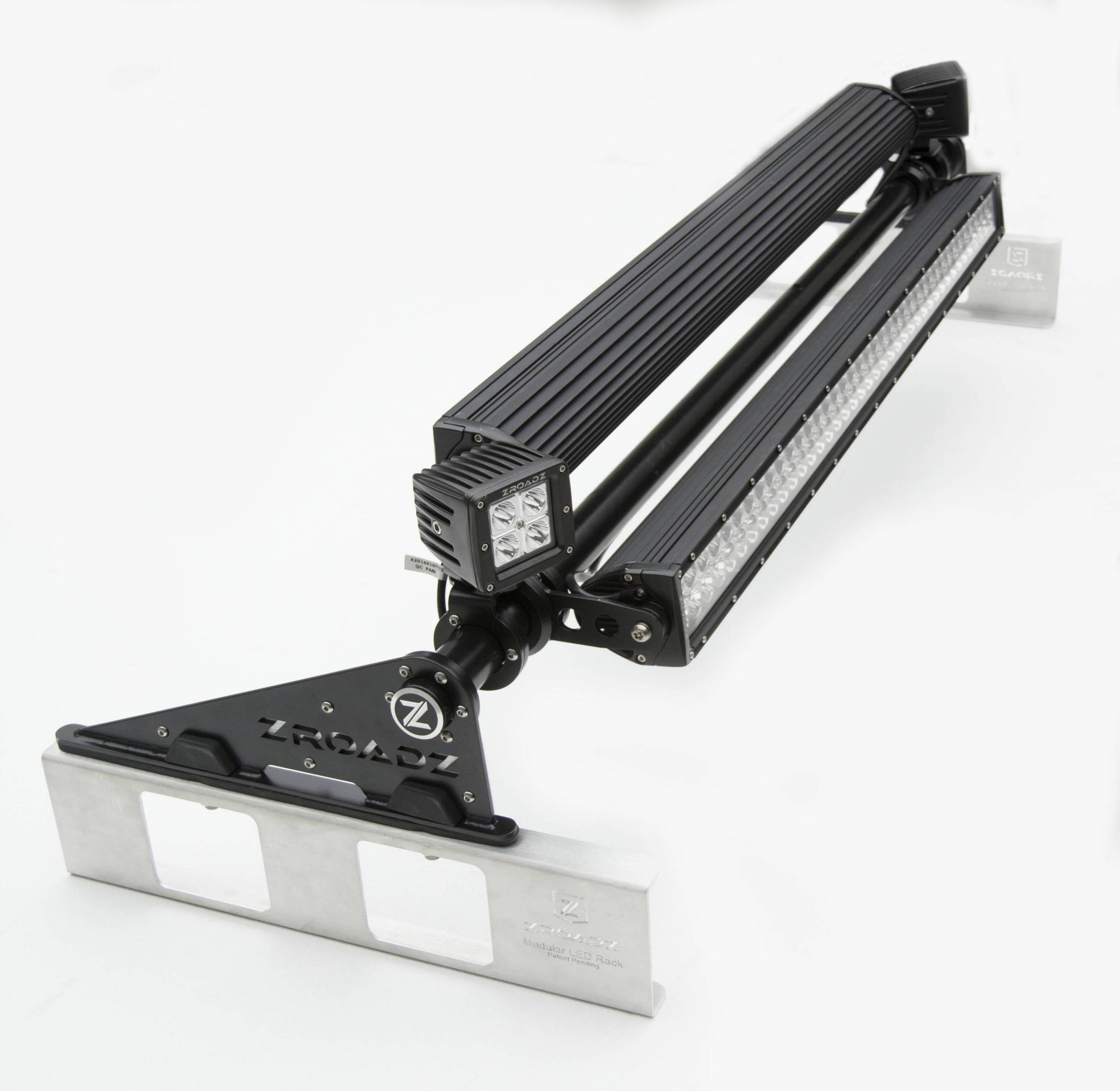 ZROADZ OFF ROAD PRODUCTS - Modular Rack LED Kit with (2) 40 Inch and (2) 3 Inch LED Pod Lights - PN #Z350050-KIT-A