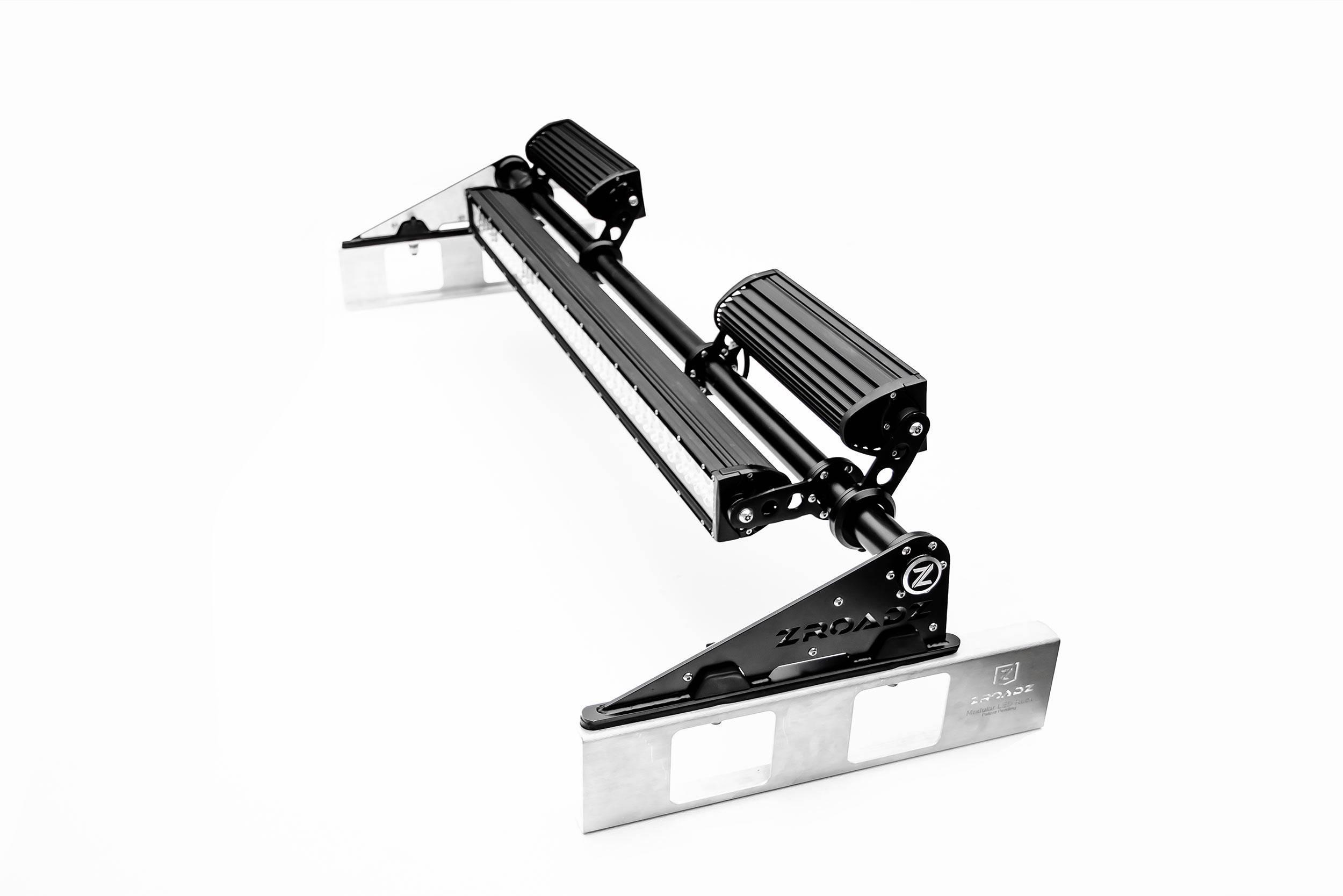 ZROADZ - Modular Rack LED Kit with (1) 40 Inch (2) 12 Inch Straight Double Row Light Bars - PN #Z350050-KIT-F